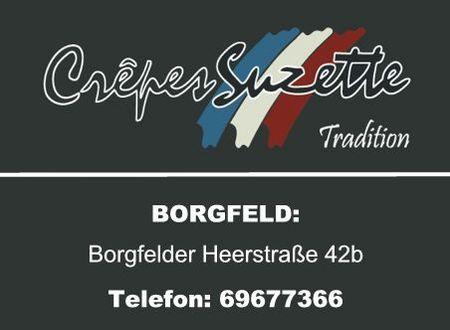 Crêpes Suzette in Borgfeld
